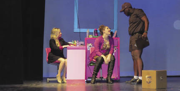 "Hillcrest's production of ""Legally Blonde: The Musical"""