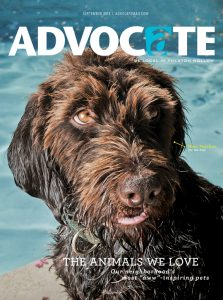 Peaches, the water skiing dog, graced the cover of last year's pet issue.