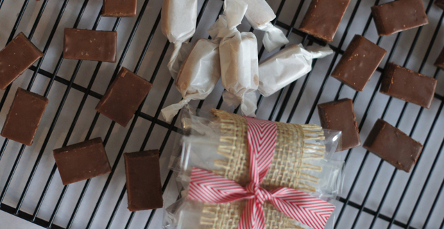 Chocolate caramels: Kristen Massad