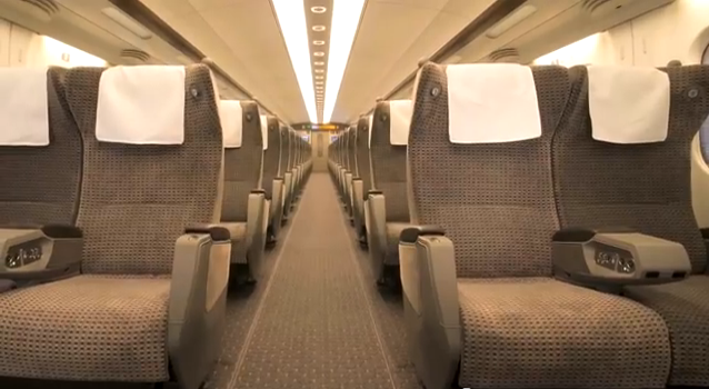 Inside the Texas bullet train: Texas Central Railway
