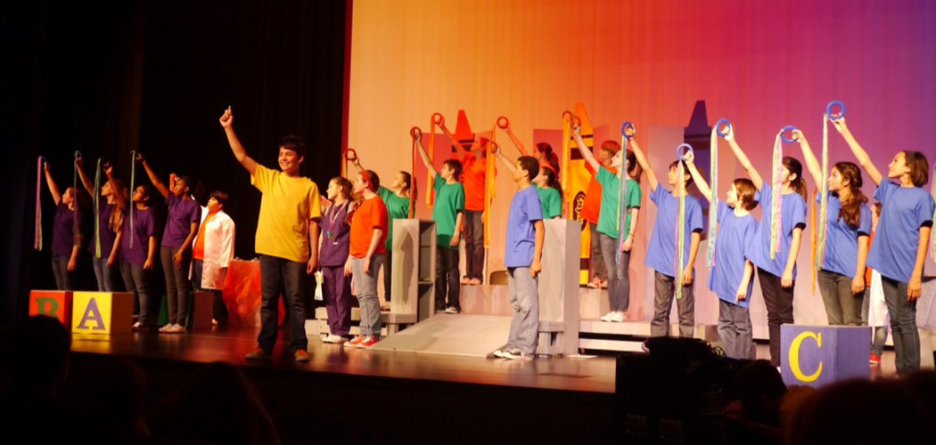 Marsh Prep Academy's award-winning theater performers: Photo courtesy of Dallas ISD