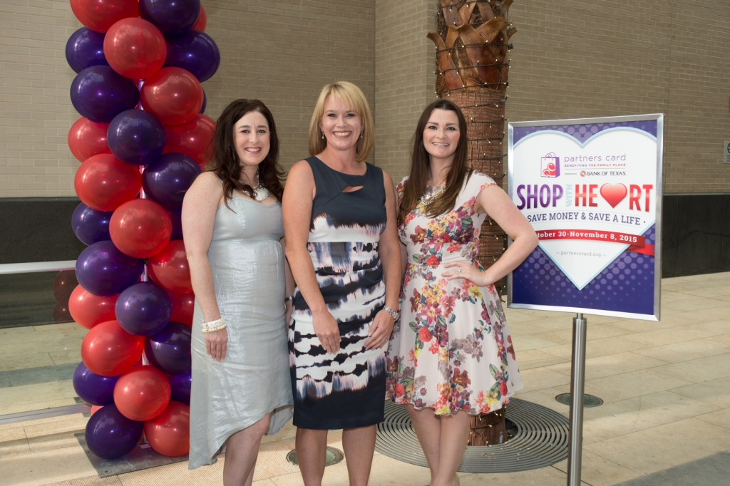2015 Event Co-Chairs Melissa Boler, Debbie Munir and Ashlee Weidner. Not pictured: Honorary Chair Rhonda Sargent Chambers. Photo via familyplace.org.