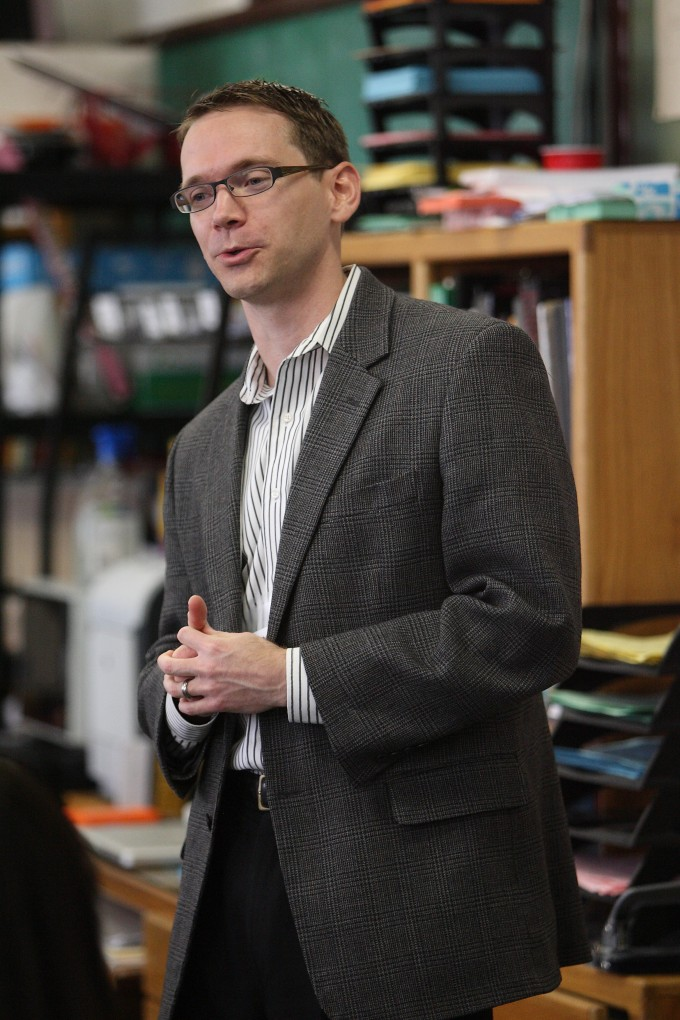 Former DISD trustee and current TEA Commissioner Mike Morath. (Photo by Dallas ISD)