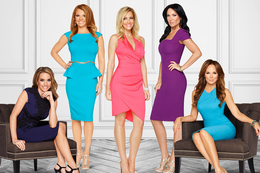 """The cast of the upcoming """"Real Housewives of Dallas."""" (Photo via bravotv.com)"""