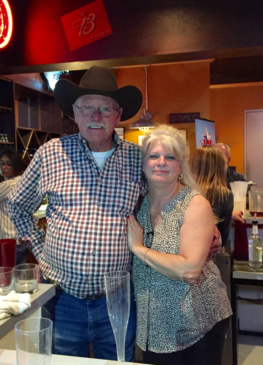 Jim and Ellen Latchaw have owned Midway Point for eight of the bar's 37 years. (Photo by Lauren Law)