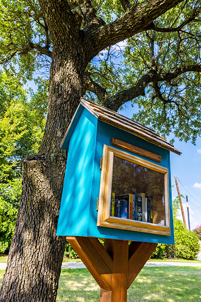 Free Little Library on Northaven Trail (Photo by Danny Fulgencio)