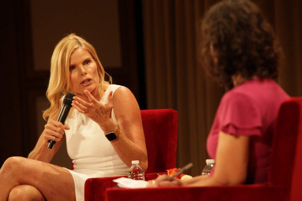 Mariel Hemingway at the Bush Institute on Oct. 13, 2016. (Photo by Rob Wythe, Gittings)