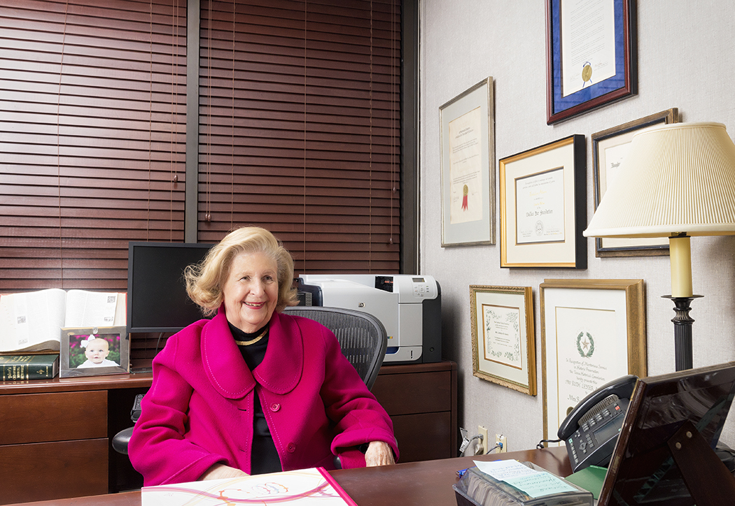 Lindalyn Bennett Adams got her first job when she was 70 years old. (Photo by danny fulgencio)