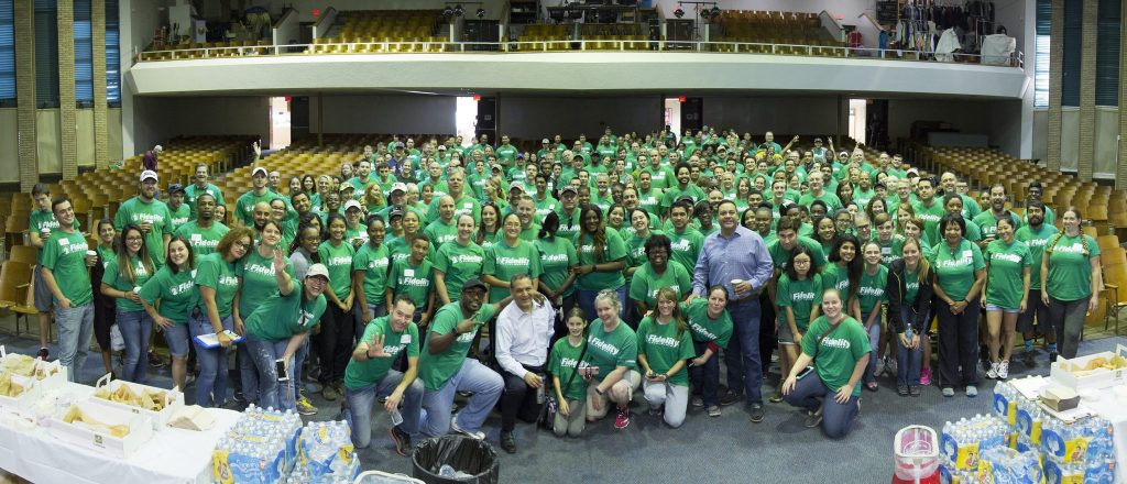 Fidelity Investments brought a facelift to Thomas Jefferson High School. (Courtesy of DISD)