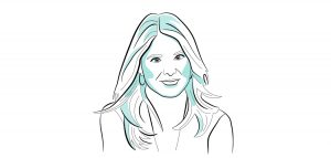 Jenna Bush (Illustration by Brian Smith)
