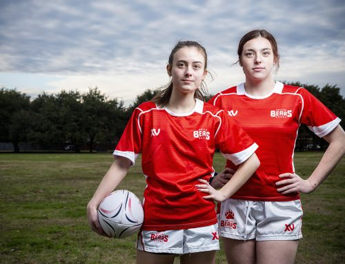 Dallas Bears petite rugby star: 'Yeah, I tackle people.'  Why rugby? 'It's down and dirty.'
