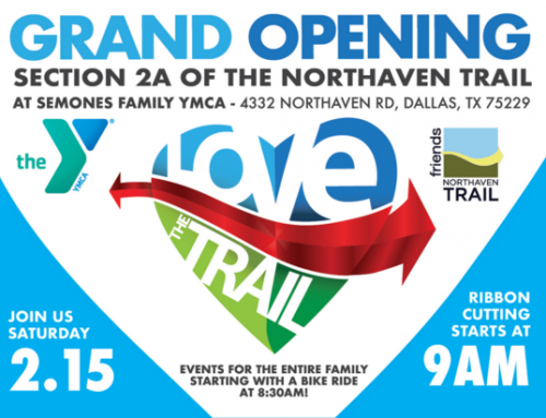 Celebrate the opening of Section 2A of the Northaven Trail Feb. 15