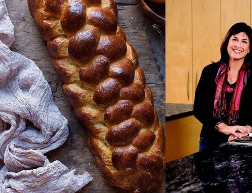 Try chef Tina Wasserman's recipe for braiding and baking challah