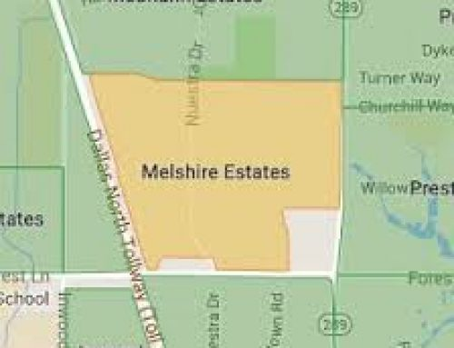 The Melshire Estate community creates a fun 'social distancing scavenger hunt'