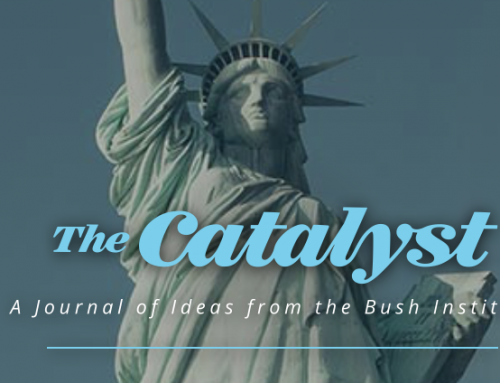 "Bush Institute presents ""America at Its Best"" in new issue of The Catalyst"