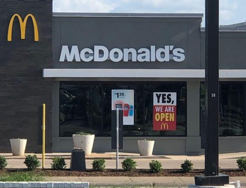 Good news of the day: McDonald's at Preston Royal reopened after the Oct. 20 tornado