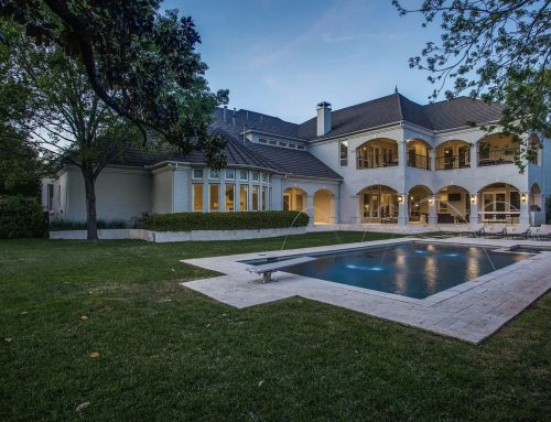 Luxurious listing: an elevator, movie theater and more sit inside this 15,000-square-foot home