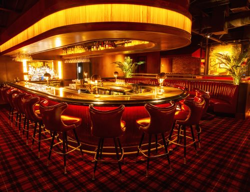 Upscale steakhouse and lounge Drake's Hollywood is a tribute to a bygone era