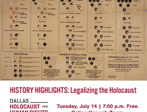 George W. Bush Presidential Center partners with the Dallas Holocaust and Human Rights Museum to host virtual event
