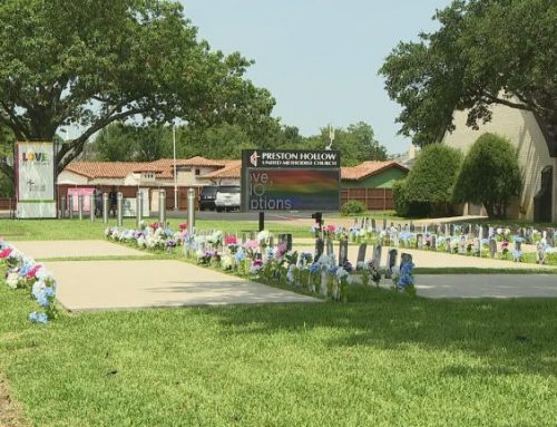 United Methodist Church of Preston Hollow builds a Black Lives Matter memorial