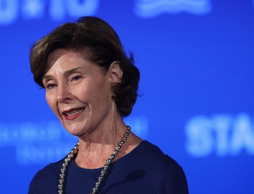 Former First Lady Laura Bush teams up with the Salvation Army this holiday season