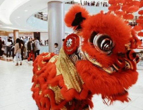 Galleria Dallas celebrates the Lunar New Year with an art installation