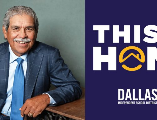 "Dallas ISD Trustee Edwin Flores: Share your ""home story"" with us"