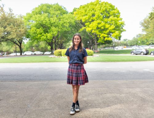 Meet Sophie Anderson, a future Fordham student who just knew that school was right for her