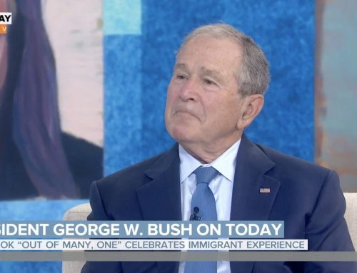 George W. Bush speaks out about immigration, Republican Party on Today show