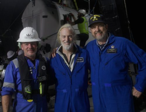 Watch: Explorer Victor Vescovo dives to the bottom of the oceans