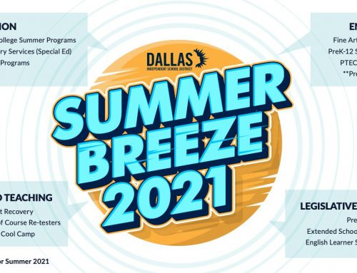 Dallas ISD Trustee Edwin Flores: FREE summer offerings for all ages