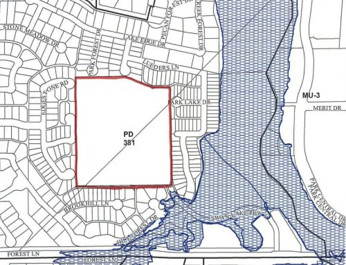 Developer requests zoning change to replace offices with multifamily residences