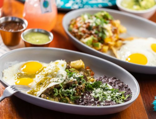 Jose serves breakfast classics with a Mexican twist