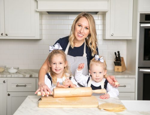 How one neighbor's pregnancy sparked her search for healthy alternatives to familiar foods