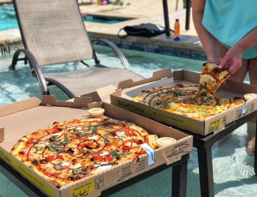 Zalat Pizza is open now on Forest Lane for pick-up orders