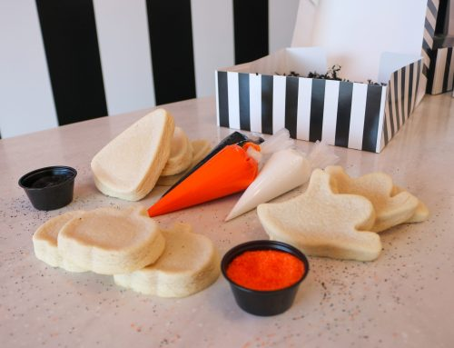 J. Rae's on Lovers Lane offering cookie-decorating kits for Halloween